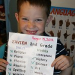 Z with his wonderful checklist!